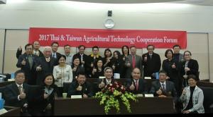 農業科技研究院2月11日率領泰國訪問團至中興大學參訪,興大校長薛富盛率相關主管共同接待。