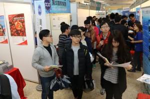 【105資料照】中興大學與台中市政府將於18日在興大惠蓀堂舉辦就業博覽會2