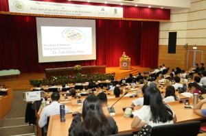 第十七屆國際學生高峰會9月25日起為期二天在中興大學圖書館國際會議廳舉辦,此次首度由中興大學與日本東京農業大學合辦