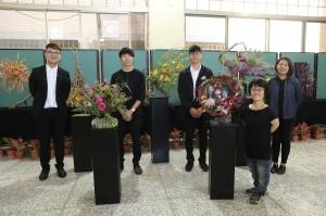 五位世界級花藝國手同場表演插花展示秀