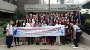 中興大學國際事務處2月4日至9日抵菲展開為期五天的參訪。